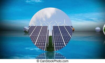 vernieuwbaar, mont, recycling, energie