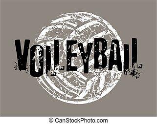 verontruste, volleybal