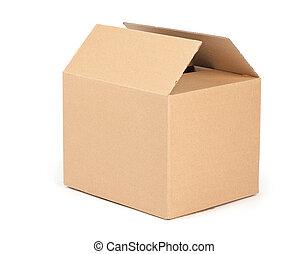 verpakking, doosje, karton