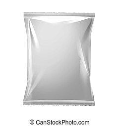 verpakking, witte , vacuüm