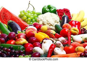 verse grostes, vruchten
