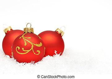 versiering, vakantie, kerstmis