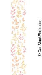 verticaal, model, bladeren, herfst, seamless, textiel, achtergrond, textured