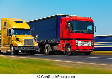 vervoer, vracht