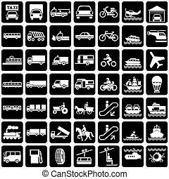 vervoeren, iconen