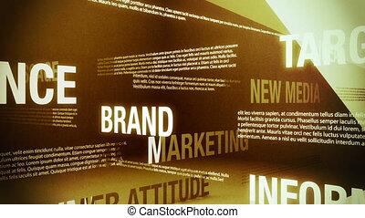 verwant, reclame, woorden, lus
