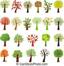 verzameling, bomen
