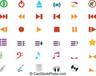 verzameling, pictogram