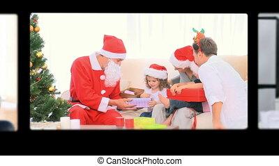 vieren, montage, chr, families