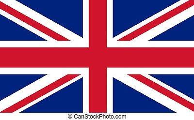 vlag, koninkrijk, verenigd