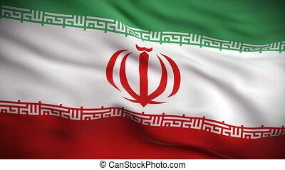vlag, looped., hd., iraans
