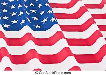 vlag, rippled, ons