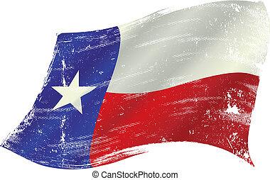vlag, texas, grunge