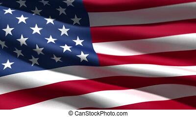 vlag, usa, achtergrond