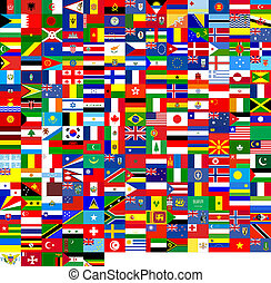 vlaggen, textuur