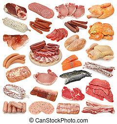 vlees, verzameling