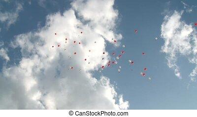 vliegen, ballons