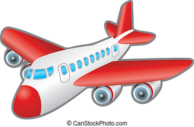 vliegtuig, illustratie