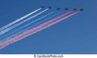 vliegtuigen, vlieg, subsonic, hemel, gepanzert, su-25, aanval