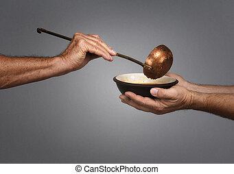 voederen, wereld