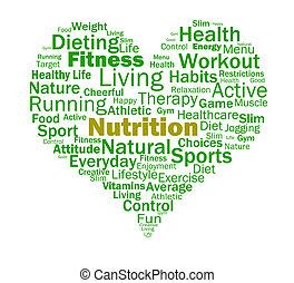 voeding, hart, gezonde , voedingsmiddelen, voedings, voedingsmiddelen, optredens