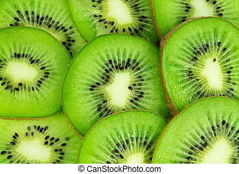 voedingsmiddelen, kiwi fruit, op einde