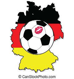 voetbal, duitsland, vrouwen