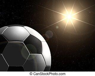 voetbal, planeet