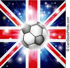 voetbal, uk, vlag