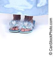 voetjes, close-up