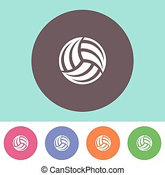 volleybal, pictogram