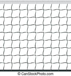 volleyball net, seamless