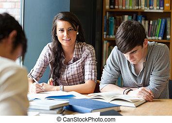 volwassenen, studerend , jonge