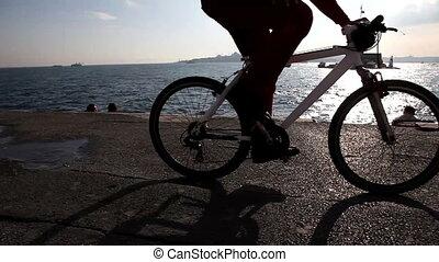 voorbijgaand, fiets