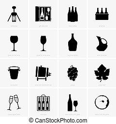 voorwerpen, winery, wijntje