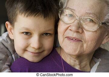 vrolijke , oma