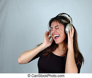 vrouw, music-1