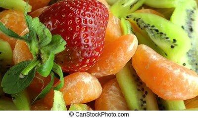 vrucht slaatje