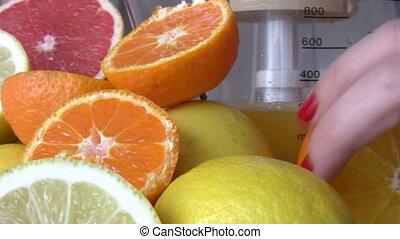 vruchten, citrus