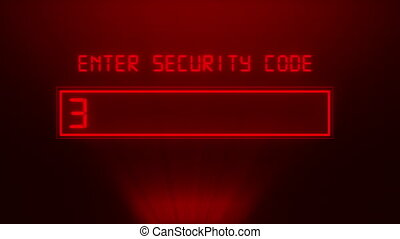 wachtwoord, veiligheid, concept