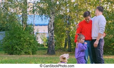 wandelingen, gezin, parken