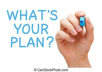 wat, plan, jouw