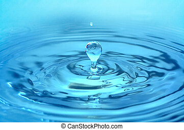 water, gespetter