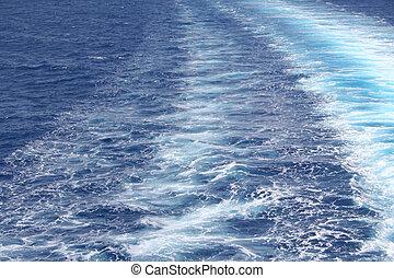 water, hemelsblauw, achtergrond, zee, rimpeling, oppervlakte