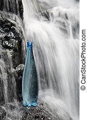 water, mineraal, watervallen