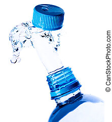 water, plonsen, fles