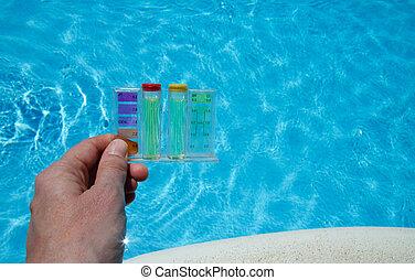 water, testen, pool
