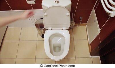 water, toilet, draineren