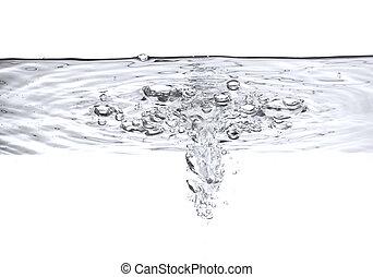 waterbellen, lucht