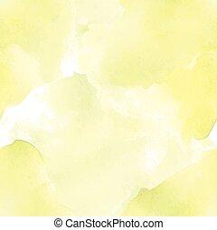 watercolor, seamless, gele, bleek